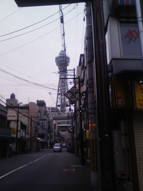 今日は大阪雨が降りそう
