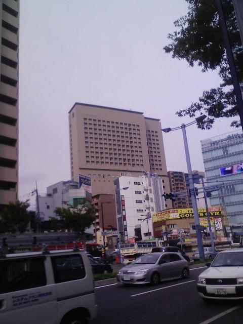 今日は大阪曇りです